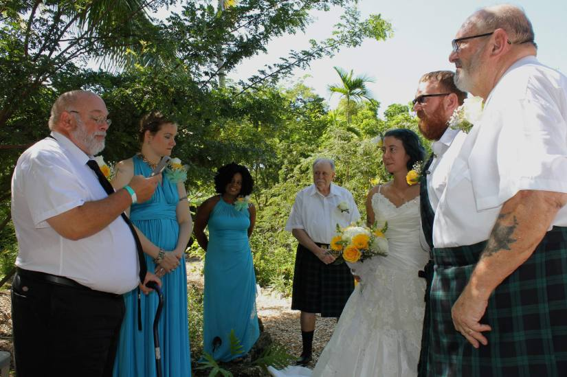 Gallus and Beck Wedding Officiated by Greg Miller